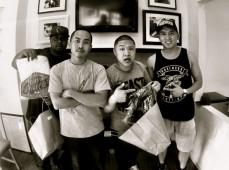 With the homies Rick & Timothy DeLaGhetto