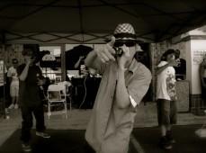 FarEast Movement performing live at Rosewood Bellflower