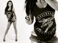 The homegirl Dawn Jaro rocking the Seal Cutters Tank-top