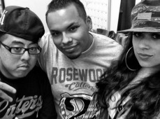 Our Rosewood Radio Family DJARon, Tonie Tone and GabbyD